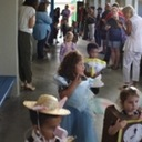 St. Pius X Pre-K students celebrate with parade