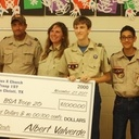 St. Pius scouts help Aransas Pass, Rockport troops