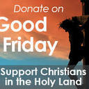 Good Friday collection to benefit the Holy Land