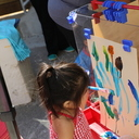 Parents and children learn new skills at Catholic Charities PAT program