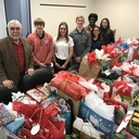 IWA seniors collect and deliver presents to CPS