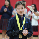 Sixth-grader Wilson Vanexan wins third place in the National Amazing Shake Competition