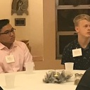 Discerners meet for dinner at St. Pius X