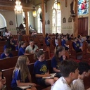 St. Pius X students visit historic churches
