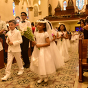 Children make first Communion