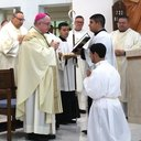 Pendleton accepted into Rite of Candidacy