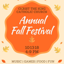 Christ The King Annual Fall Festival