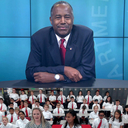 Students receive video call from Dr. Ben Carson