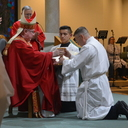 Candidates for the permanent diaconate installed as acolytes
