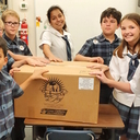 St. Pius X sends boxes of joy
