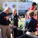 IWA students donate to Christmas food drive