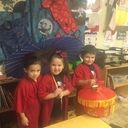 Kindergarten students study China at St. Elizabeth