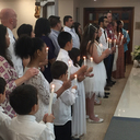 Father Lopez celebrates Easter Holy Week at St. Gertrude