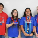 OLPH Academy 3D design team place second in state competition