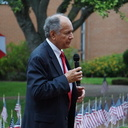 IWA principal honored at Flagpole Dedication Ceremony