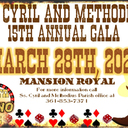 Ss. Cyril and Methodius 15th Annual Gala