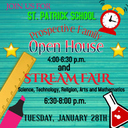 St. Patrick School Open House and STREAM Fair