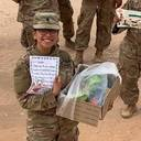 Troops receive IWA care packages