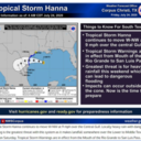Tropical Storm Hanna continues toward Texas Coast