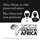 Support pastoral ministry in Africa through the Solidarity Fund for the Church in Africa