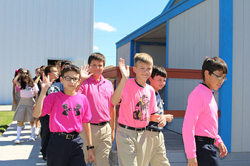 3H Club from BGMPS sponsored 'A 1 Mile Walk for Life'