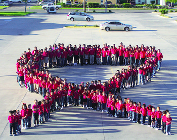 Catholic students celebrate Red Ribbon Week