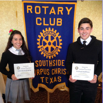 St. John Paul II High School students receive 'Student of the Month' awards