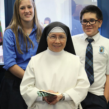 Religious life provided Sister Amor a family