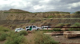 Meeting with Border Patrol, National Guard and ranchers