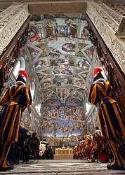 Sistine Chapel weathers fallout from 'Francis effect' crowds
