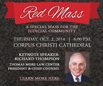 Red Mass slated for Oct. 2 at Corpus Christi Cathedral