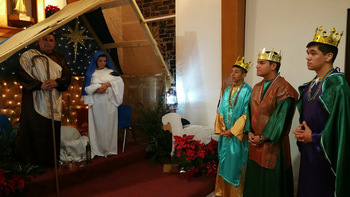 Robstown parish holds Christmas Pageant before vigil Mass
