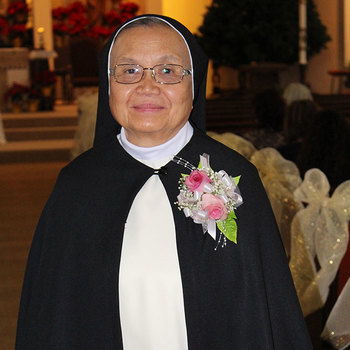 Sister Mary Martires celebrates her Golden Jubilee