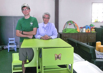 Eagle Scout project helps the Ark