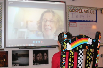 Students skyped with director of water for South Sudan