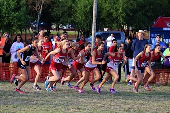 IWA Lady Angels host, win TAPPS district track meet