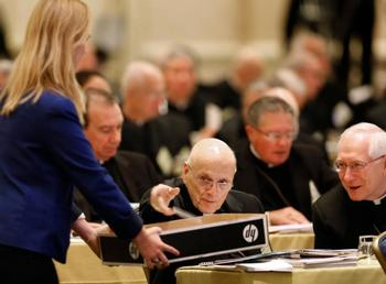 Bishops at fall assembly approve priorities, plans