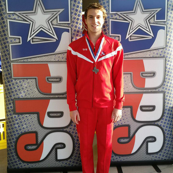 IWA Sophomore earns medals at TAPPS State Swim Championships