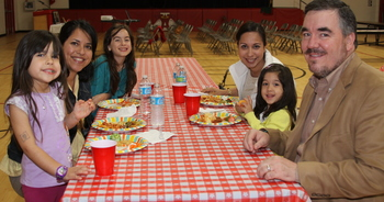 Family night highlights student-parent-educator partnership of education process