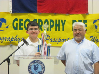 Eighth grade Bishop Garriga Middle Preparatory student wins state Geography Bee