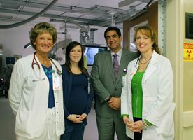 Hospital reunites patients, doctors for one-year anniversary of innovative heart valve procedure