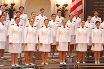 United States Naval Academy Women's Glee Club to perform at Corpus Christi Cathedral