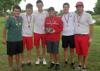 IWA golfers advance to state