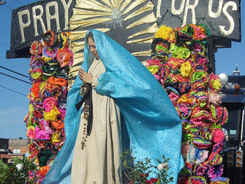 Our Lady of Guadalupe float wins the hearts of Corpus Christi