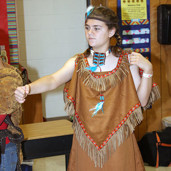 IWA Elementary Level students transforms class into living wax museum
