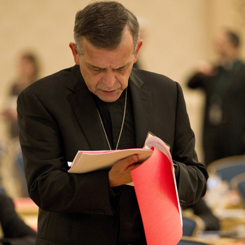 Conference looks at Catholic community's role in fighting human trafficking