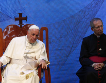 Pope calls on Bolivian priests, religious to remember their roots