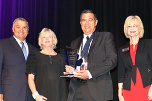 Del Mar College recognizes Deacon Palacios with Creighton Award for Teaching Excellence