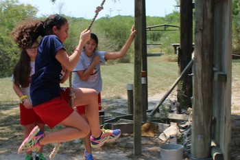Eighth graders learn to build community among each other