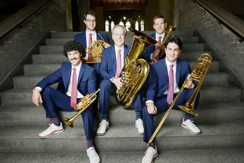 The Canadian Brass will perform Feb. 9